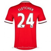 Magasin Maillot Manchester United Fletcher Domicile 2014 2015