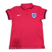 Maillot Angleterre Polo Rouge 2016 2017 Promo Prix Paris