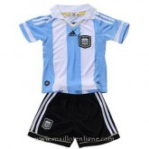 Maillot Argentine Enfant Domicile 2011-2013 Rabais prix