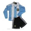 Maillot Argentine Manche Longue Enfant Domicile 2011-2013 Site Officiel France