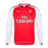 Maillot Arsenal Manche Longue Domicile 2014 2015 Boutique France
