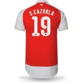 Maillot Arsenal S.Cazorla Domicile 2015 2016 Pas Chère