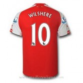 Maillot Arsenal Wilshere Domicile 2014 2015 Promos Code