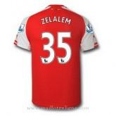 Maillot Arsenal Zelalem Domicile 2014 2015 Rabais
