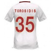 Maillot As Roma Torosidis Exterieur 2014 2015 Boutique France
