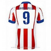 Maillot Atletico De Madrid David Villa Domicile 2014 2015 Réduction