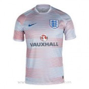 Maillot Avant-Match Angleterre Blanc 2016 2017 Promos Code