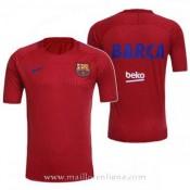 Maillot Avant-Match Barcelone Rouge 2016 2017 Paris Boutique