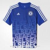 Maillot Avant-Match Chelsea Bleu 2016 à Petits Prix