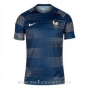 Maillot Avant-Match France Bleu 2016 2017 Promos