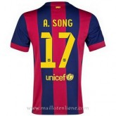Maillot Barcelone A.Song Domicile 2014 2015 PasCher Fr