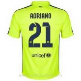 Maillot Barcelone Adriano Troisieme 2014 2015 Prix En Gros