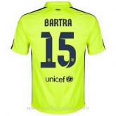 Maillot Barcelone Bartra Troisieme 2014 2015 Promos