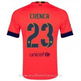 Maillot Barcelone Cuenca Exterieur 2014 2015 Promotions