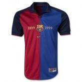 Maillot Barcelone Domicile Retro 1899 1999 Remise Nice
