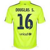 Maillot Barcelone Douglas S. Troisieme 2014 2015 Promos Code