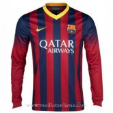 Maillot Barcelone Manche Longue Domicile 2013-2014 Lyon