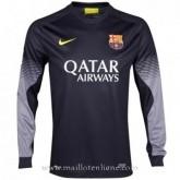 Maillot Barcelone Manche Longue Goalkeeper 2013-2014 Moins Cher
