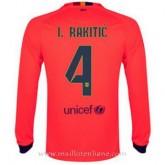 Maillot Barcelone Manche Longue I.Rakitic Exterieur 2014 2015 à Petits Prix