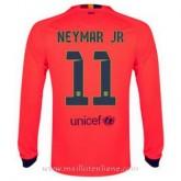 Maillot Barcelone Manche Longue Neymar Jr Exterieur 2014 2015 Escompte En Lgine