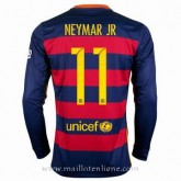Maillot Barcelone Manche Longue Neymar.Jr Domicile 2015 2016 En Soldes