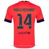 Maillot Barcelone Mascherano Exterieur 2014 2015 Pas Cher Marseille