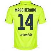 Maillot Barcelone Mascherano Troisieme 2014 2015 Pas Cher Nice