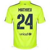 Maillot Barcelone Mathieu Troisieme 2014 2015 Pas Cher Provence
