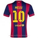 Maillot Barcelone Messi Domicile 2014 2015 Pas Chere