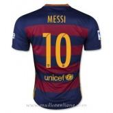Maillot Barcelone Messi Domicile 2015 2016 Pas Chère