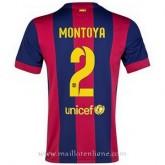 Maillot Barcelone Montoya Domicile 2014 2015 Prix France