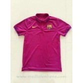 Maillot Barcelone Polo Rose 2016 Soldes Marseille