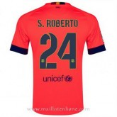 Maillot Barcelone Roberto Exterieur 2014 2015 Vendre
