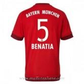 Maillot Bayern Munich Benatia Domicile 2015 2016 Pas Cher