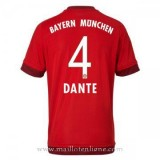 Maillot Bayern Munich Dante Domicile 2015 2016 Pas Chère