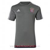 Maillot Bayern Munich Formation Gris 2015 2016 Remise Nice