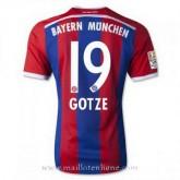 Maillot Bayern Munich Gotze Domicile 2014 2015 en Promo