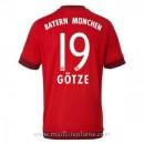 Maillot Bayern Munich Gotze Domicile 2015 2016 Soldes