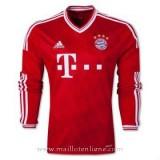 Maillot Bayern Munich Manche Longue Domicile 2013-2014 Europe