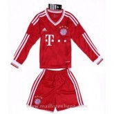 Maillot Bayern Munich Manche Longue Enfant Domicile 2013-2014 France Magasin
