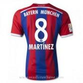 Maillot Bayern Munich Martinez Domicile 2014 2015 la Vente à Bas Prix