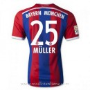 Maillot Bayern Munich Muller Domicile 2014 2015 Lyon