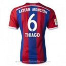 Maillot Bayern Munich Thiago Omicile 2014 2015 Moins Cher