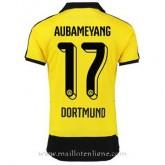 Maillot Borussia Dortmund Aubameyang Domicile 2015 2016 Pas Cher Prix