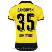 Maillot Borussia Dortmund Bandowski Domicile 2015 2016 Pas Chere