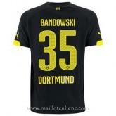 Maillot Borussia Dortmund Bandowski Exterieur 2014 2015 Pas Chère