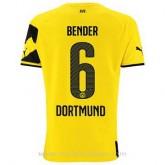 Maillot Borussia Dortmund Bender Domicile 2014 2015 PasCher Fr