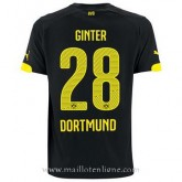 Maillot Borussia Dortmund Ginter Exterieur2014 2015 Soldes Marseille