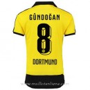 Maillot Borussia Dortmund Gundogan Domicile 2015 2016 Soldes Provence