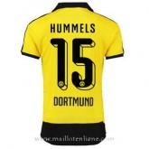 Maillot Borussia Dortmund Hummels Domicile 2015 2016 Vendre Cannes